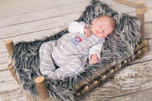 Babyfotografie im Studio
