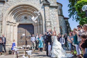 Hochzeitstauben in Harsum