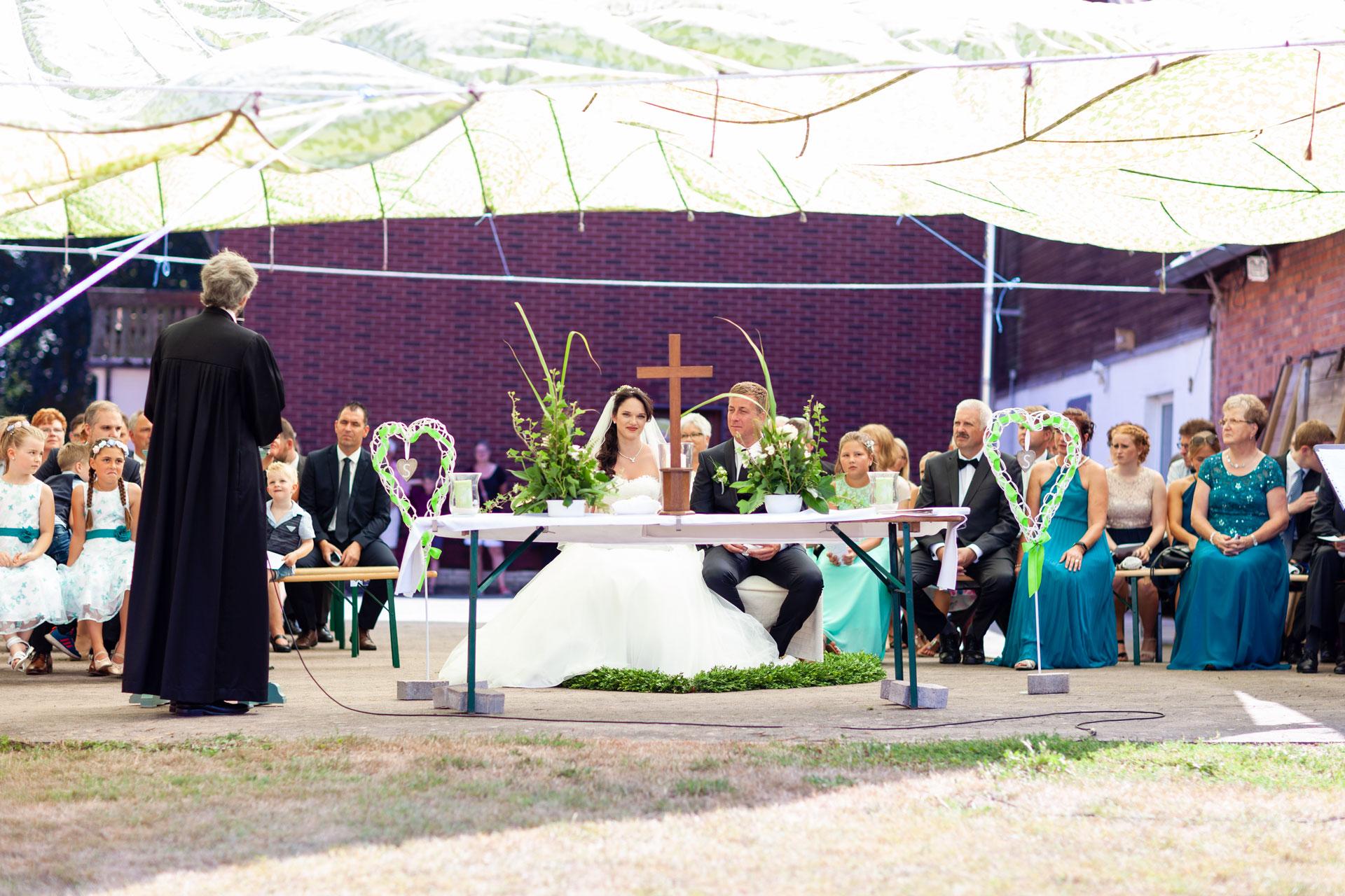 Katharina und Stefan - Hochzeit in Lübbrechtsen/Elze
